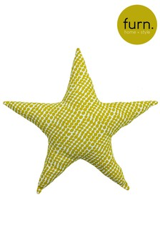 Little Furn Printed Star Cushion by Furn