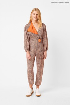French Connection Mix Print Jumpsuit