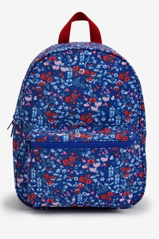 Navy Ditsy Nursery Backpack