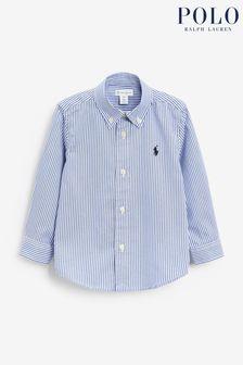 Ralph Lauren Blue/White Stripe Oxford Shirt