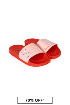 Girls Pink Sliders
