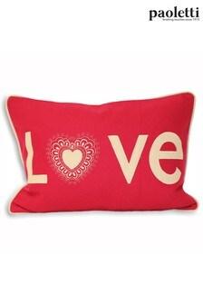 Lovehearts Cushion by Riva Paoletti