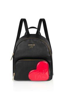 Girls Black Backpack