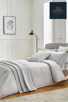 Bedeck Of Belfast Silver Adan Large Oxford Pillowcase