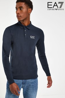Emporio Armani EA7 Long Sleeve Poloshirt