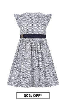 ELIE SAAB Girls White Cotton Dress