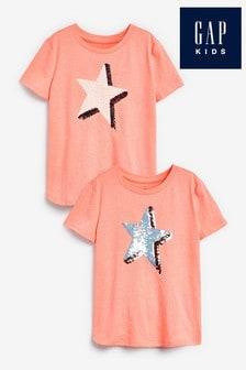 Gap Star Flippy Sequin T-Shirt
