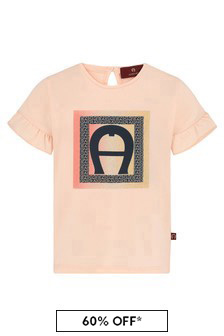 Aigner Pink Cotton T-Shirt