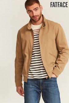 FatFace Natural Harrington Jacket