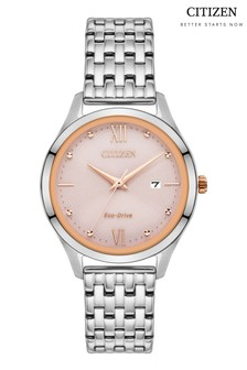 Citizen Eco Drive® Watch With Blush Pink Dial