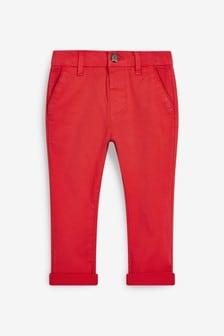 Red Stretch Chinos (3mths-7yrs)