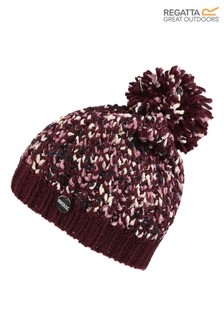 Regatta Purple Lorelai II Pom Pom Hat