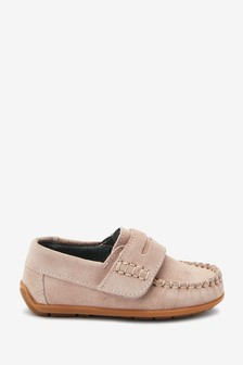Pink Penny Loafers