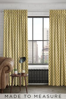 Taylor Sunflower Gold Made To Measure Curtains