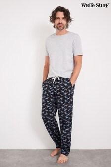 White Stuff Moortop Printed Pyjama Bottoms