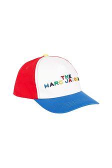 قبعة قطن حمراء أولادي