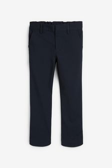 Navy Plus Waist Formal Stretch Skinny Trousers (3-17yrs)