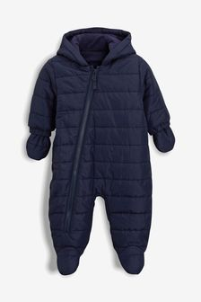 Navy Pramsuit (0mths-2yrs)