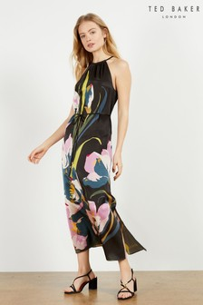 Ted Baker Piana Urban Halterneck Midi Dress
