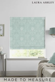 Laura Ashley Josette Duck Egg Made to Measure Roman Blind