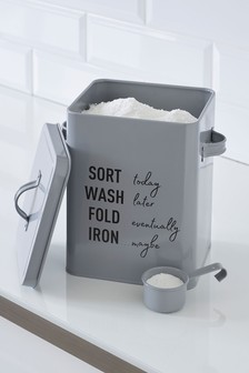 Laundry Powder Storage