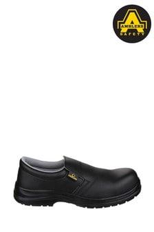 Amblers Safety Black FS661 Lightweight Slip-On Safety Shoes