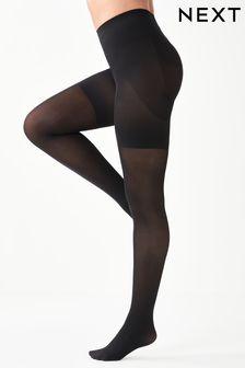 Black 60 Denier Bum, Tum And Thigh Shaping Tights