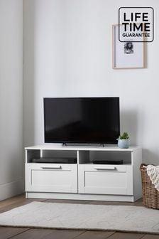 White Flynn TV Stand