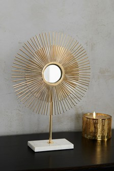 Sunburst Mirror Sculpture