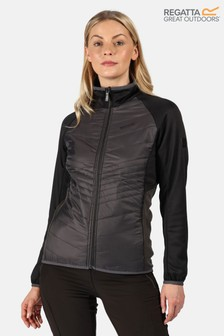Regatta Grey Womens Clumber Hybrid Baffle Jacket