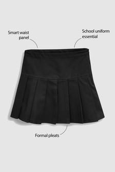 Black Pleat Skirt (3-16yrs)