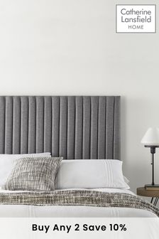 Grey Soho Collection Headboard By Catherine Lansfield