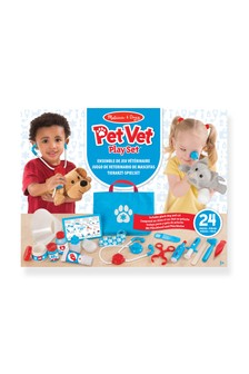 Melissa & Doug Pet Vet Examine Treat Play Set