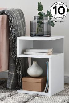 White Mode S Side Table / Bedside