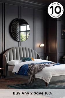 Opulent Velvet Steel Stella Bed