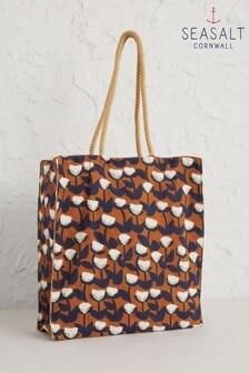 Seasalt Brown Kitchen Garden Cut Stems Slipware Bag