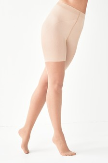 Tan Bum/Tum/Thigh Matt Shaping Tights