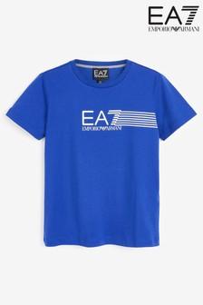 Emporio Armani EA7 Boys 7 Lines T-Shirt