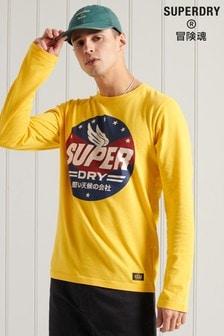Superdry Boho Graphic Long Sleeve T-Shirt