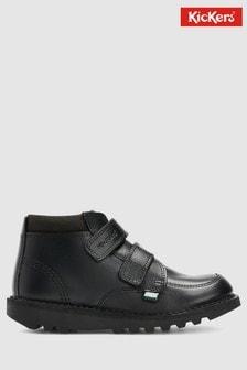 Kickers® Black Scuff Hi Boot