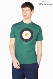 Ben Sherman Fraser Green Signature Target T-Shirt