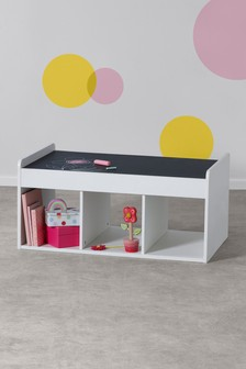 White Play Chalk Table