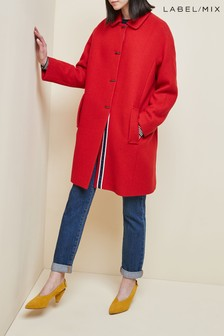 Red  Mix/Grace & Oliver Astrid Coat