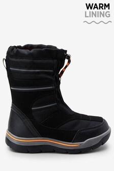 Black Snow Boots (Older)