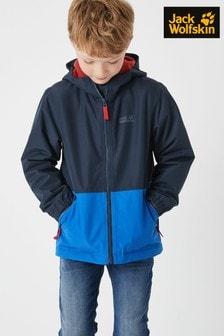 jack wolfskin glacier bay boys jacket