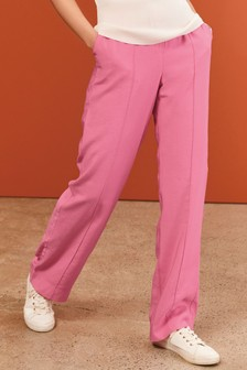 Pink Slouch Trousers