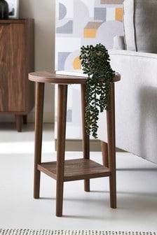 Walnut effect Oslo Walnut Side Table