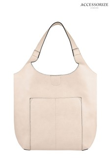 Accessorize Pink Kathy Casual Hobo Bag