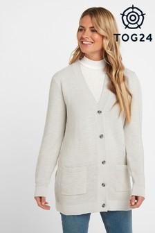Tog 24 Cream Juna Womens Texture Cardigan