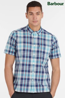 Barbour® Madras 9 Short Sleeved Tailored Shirt